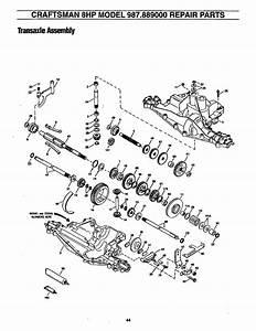Craftsman 987889000 User Manual 8 Horsepower 33 Inch Mower