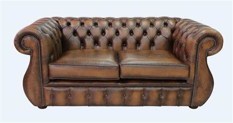 Ebay Settees Leather by Chesterfield Kimberley 2 Seater Antique Leather Sofa