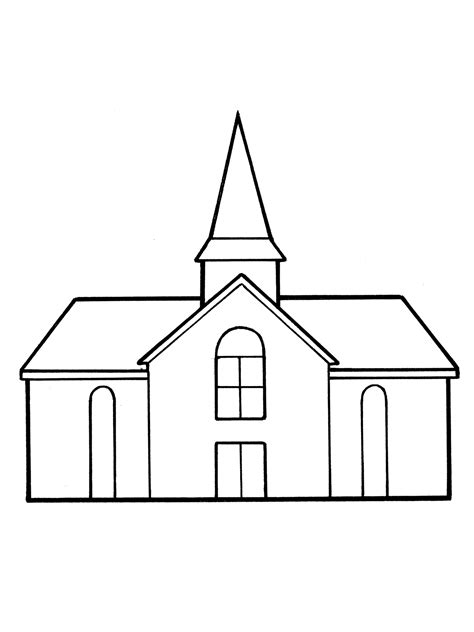 church coloring pages inside a church coloring page coloring pages