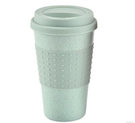 Will you be serving hot or cold beverages? Travel Portable Pink & Blue Polka Dot Thermal Insulated Tea Coffee Mug Cup Takeaway & Lid ...