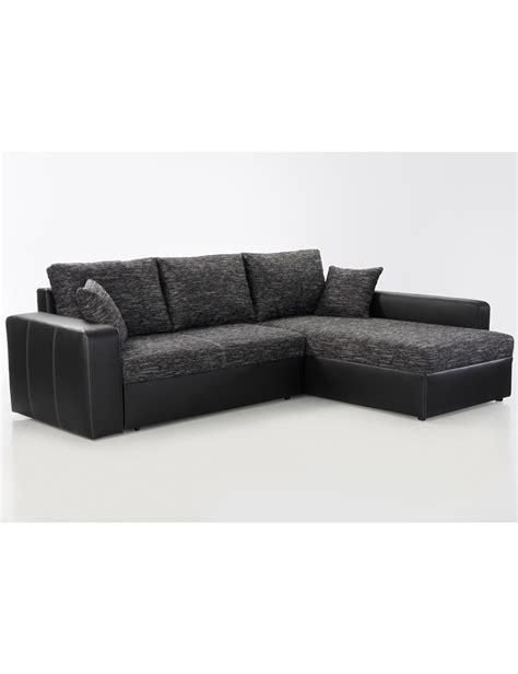 canapé lit noir canapé lit liberty noir