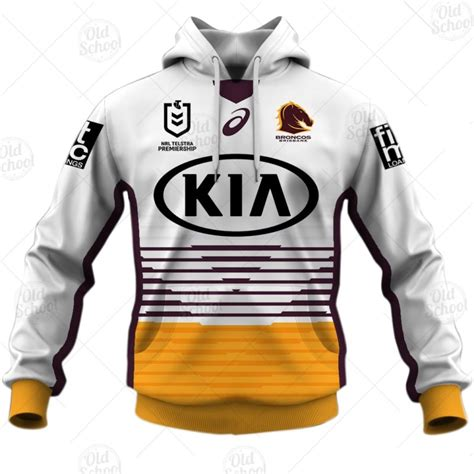 It's the only power ranking that matters, finding out who will top our list of nrl jerseys for the coming season. Personalise NRL Brisbane Broncos 2021 Away Jersey - YourGears