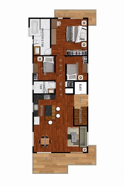 Floor Building Plans Fourth Third Rose