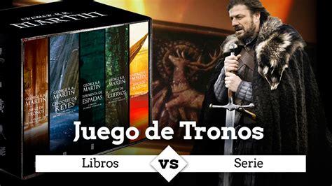 juego de tronos libros  serie en el