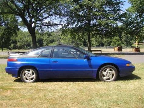 subaru svx blue purchase used 1992 subaru svx lsl top model coupe 2 door 3