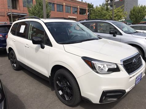 subaru forester white 2018 subaru forester limited black addition in white yelp