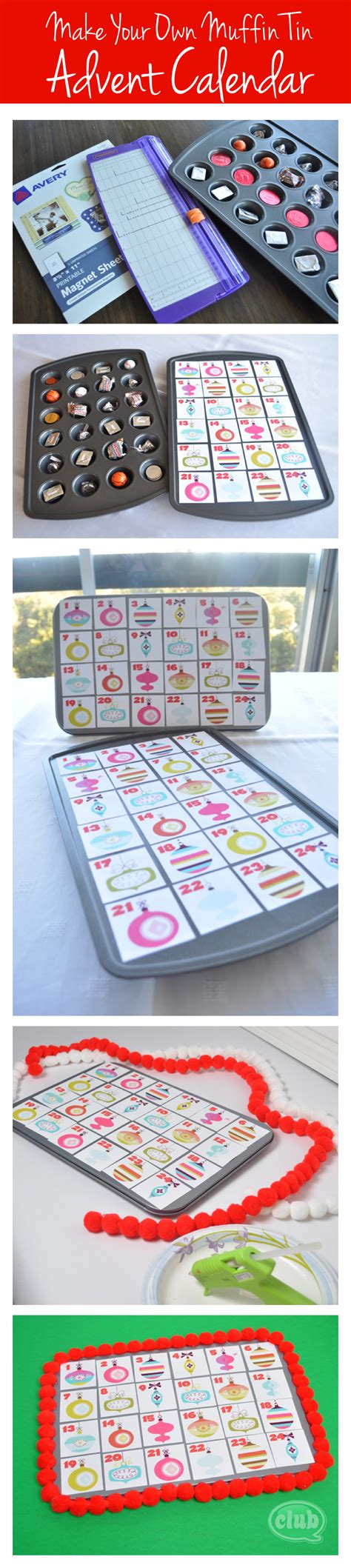 Make Your Own Advent Calendar Template by Make Your Own Advent Calendar And Free Printable