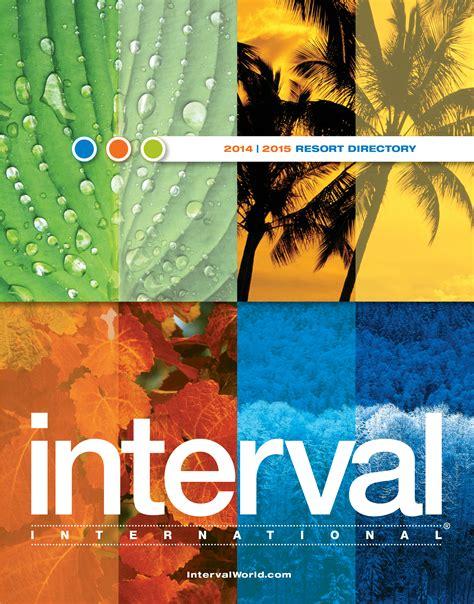 phone number for interval international resort directory