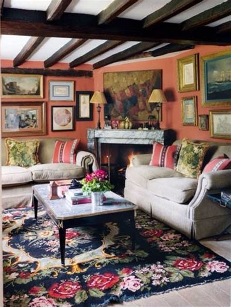 Colorful Living Room Escape by Colorful Living Room My Vintage Home