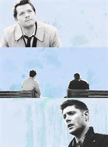 Supernatural Dean Castiel Fan Art