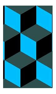 Wallpaper grey blue 3d cubes black #2f4f4f #00bfff #000000 ...