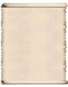 Blank Scroll Template Printable
