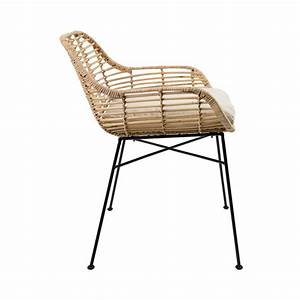 Fauteuil En Rotin Tiger By Drawer