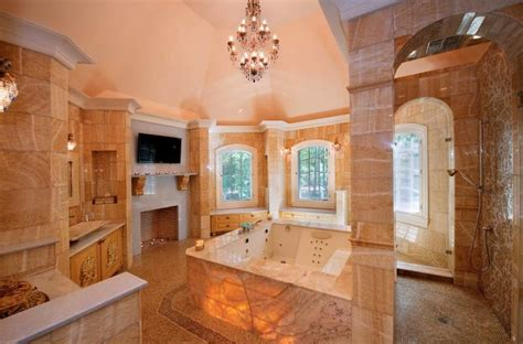 Plush Stone Mansion In Saddle River