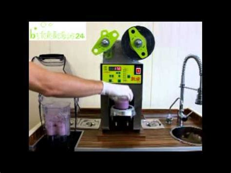 bubble tea sealing machine youtube