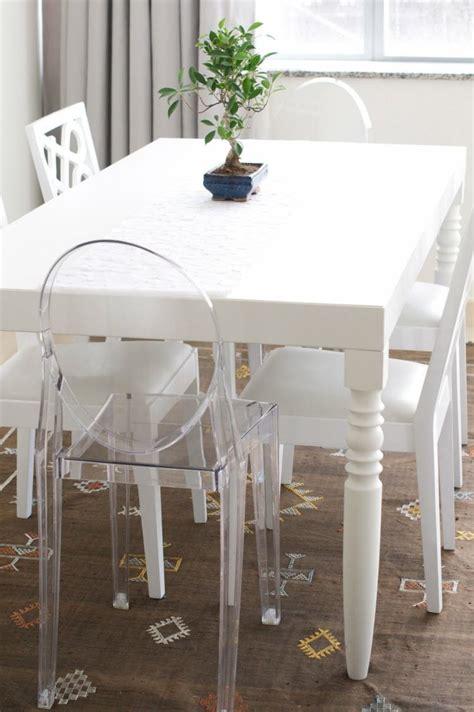 chaise polycarbonate transparente la chaise transparente une tendance moderne et originale