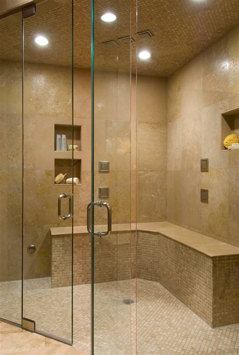 Large Shower Baths Ideas by Built In Shower Bench And Corner Seat Guide Ensotile