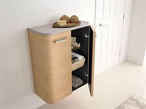 Demi Colonne Salle De Bain : 40 armoires de salle de bains elle d coration ~ Premium-room.com Idées de Décoration