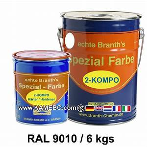 Farbe Ral 9010 : brantho korrux 2 kompo rostschutzlack ral 9010 weiss 6 kg ~ Markanthonyermac.com Haus und Dekorationen