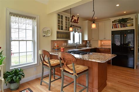 combine small kitchen  sun room  create  spacious entertaining space currier kitchens