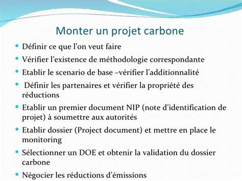 comment monter un projet carbone