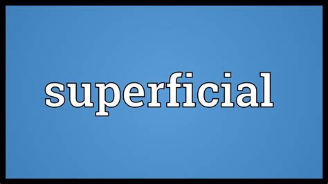 Meaning In by Superficial Meaning