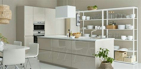 Ikea Küche Voxtorp Beige by Metod Voxtorp High Gloss Beige Ikea Kitchen Ikea