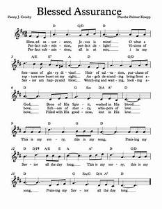 Free Lead Sheet – Blessed Assurance in 2018 | Music ...