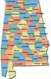 Literary Map of Alabama   Alabama Literary Map   Literary ...