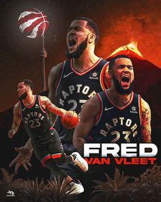 Fred VanVleet Toronto Raptors | Raptors, Toronto raptors ...