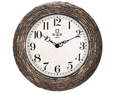 Novelty Wooden Fashion Wall Clock Decorative Indoor Home