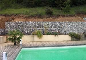 Mur De Soutenement En Gabion : murs de soutenement enrochement gabion grenoble isere 38 ~ Melissatoandfro.com Idées de Décoration