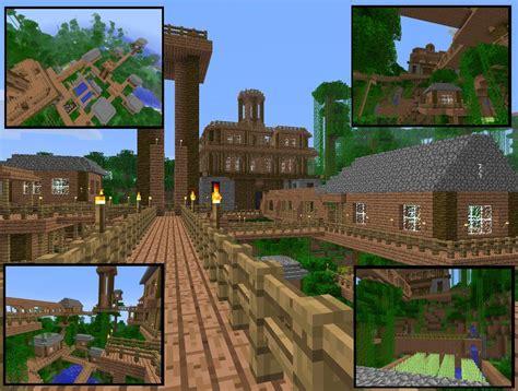 minecraft village minecraft jungle village  virenth