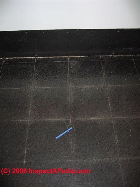 asbestos content  floor tile mastics cutback adhesive