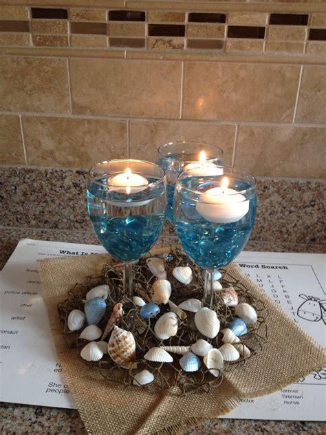 Beach Wedding Centerpiece Wedding Planning Beach