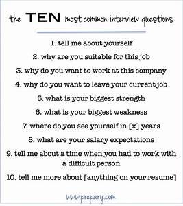 Best 25+ Top ten interview questions ideas on Pinterest ...