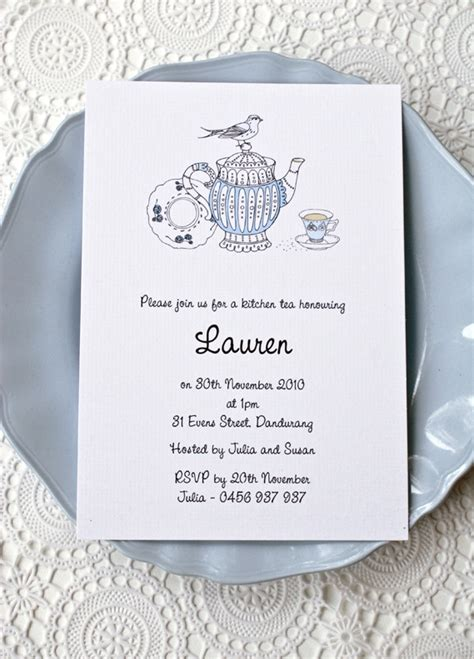 kitchen tea invites ideas vintage kitchen tea invitation invitations
