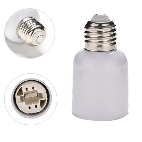 power adapters e27 to g24 socket base led halogen cfl