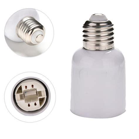 power adapters e27 to g24 socket base led halogen cfl