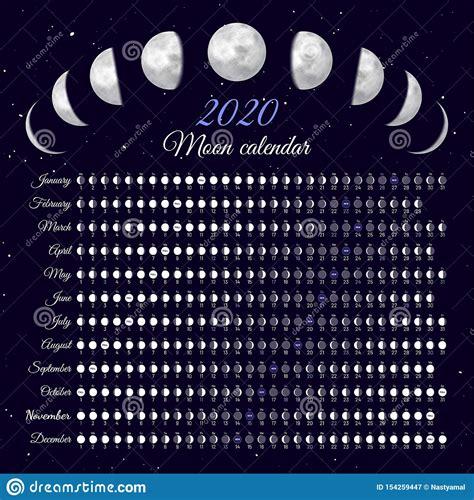 calendar  full moon printable calendar