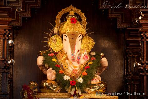 dagdusheth ganpati hd wallpapers windows  wallpapers