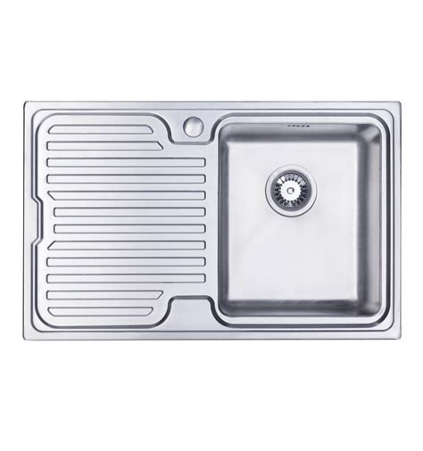 single bowl kitchen sink with drainer sapphire compact single bowl drainer inset kitchen sink 9306