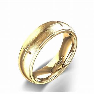 Nice wedding rings with crosses on them new christian for Wedding rings with crosses on them