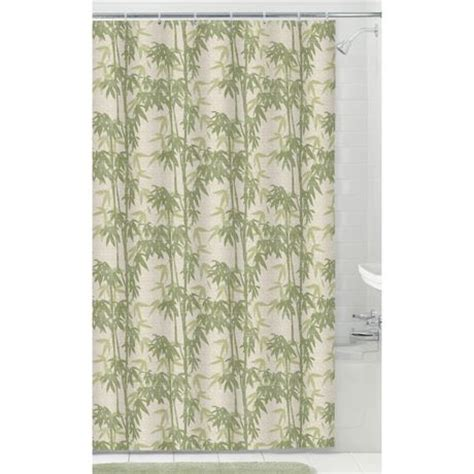 Curtains At Walmartca by Mainstays Fabric Shower Curtain With 12 Hooks Walmart Ca
