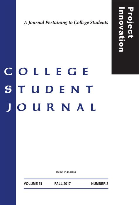 journal pertaining  college students education