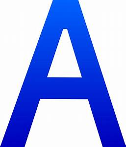 letter a images formal letter template With pictures of letters