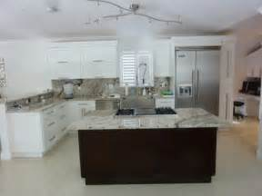 shaker style kitchen island shaker style cabinetry contemporary kitchen miami by visions