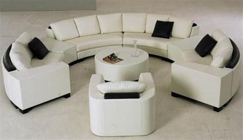 canapé rond design canapé design quand le luxe siège dans votre salon