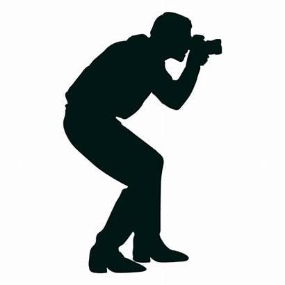 Silhouette Golfer Female Library Fotografer