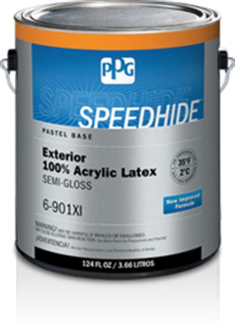 Speedhide® Exterior 100% Acrylic Latex Semigloss
